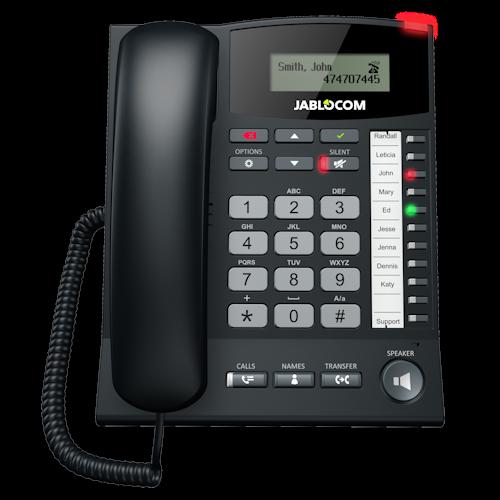 Hypermoderne Jablocom 3G telefon til SIM-kort, mobiltelefon/bordtelefon ZM-05