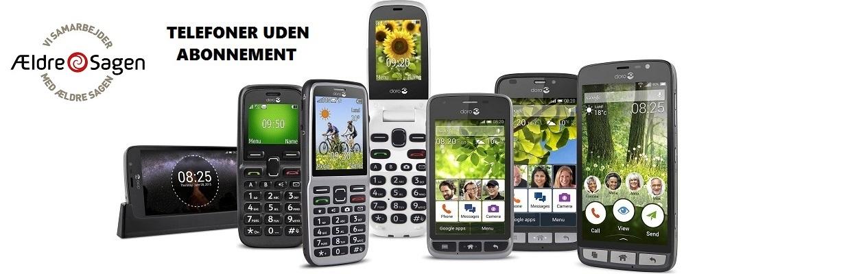 telefon abonnement priser